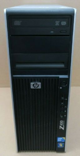 HP WorkStation Z400 Tower Quad Core W3565 3.20GHz 8GB Ram 1TB HDD W7 Quadro 2000